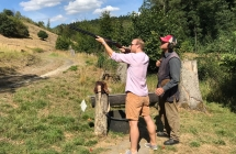 Tontaubenschießen Jagdparcours Heisterberg