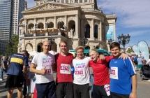 """Teilnahme am """"Lauf für mehr Zeit"""" in Frankfurt am Main"""