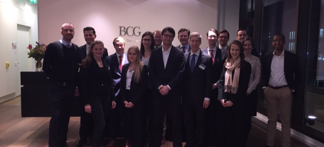 Präsentationstraining mit der Boston Consulting Group